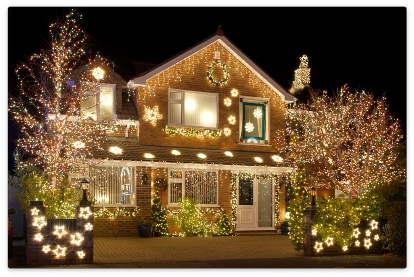 автоматическая подсветка дома