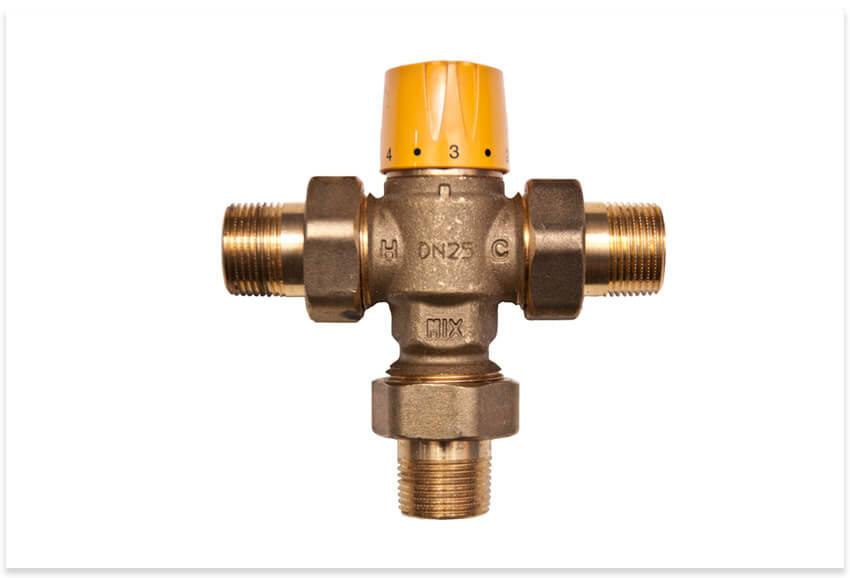 трехгодовой клапан отопления