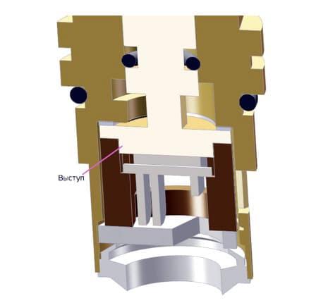 кран-букса керамическая